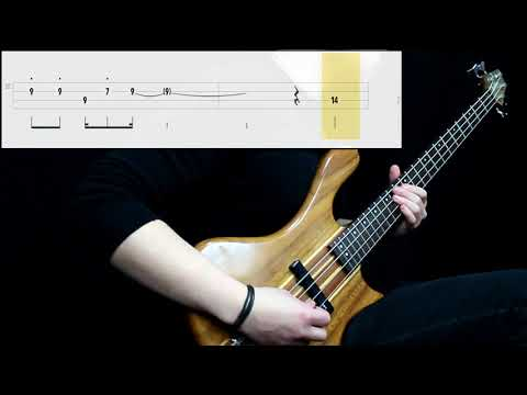 Air - La Femme D'Argent (Bass Cover) (Play Along Tabs In Video)