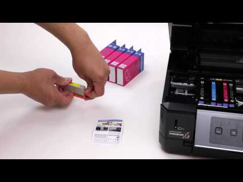 How to Install T273XL Series Compatible Ink Cartridges with Printer Epson XP-520