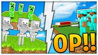 NEW OP MOBS EDITION MODDED MINECRAFT MONSTER SKY ISLAND - THE NEW MONSTERS INDUSTRIES 3.0?