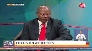 Sports Interview - Focus on athletics