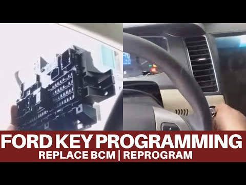 Ford Taurus Key Programming | Replace Bcm  And Programming With IDS Scantool