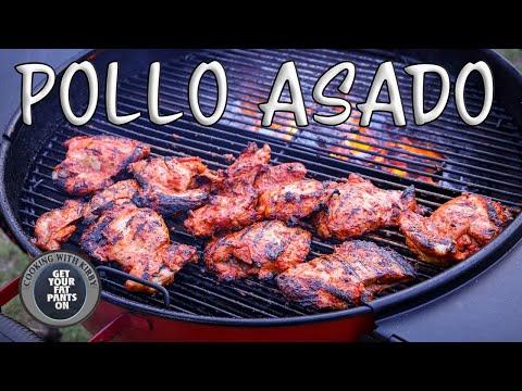 Pollo Asado - Chicken Tacos - Mexican Food