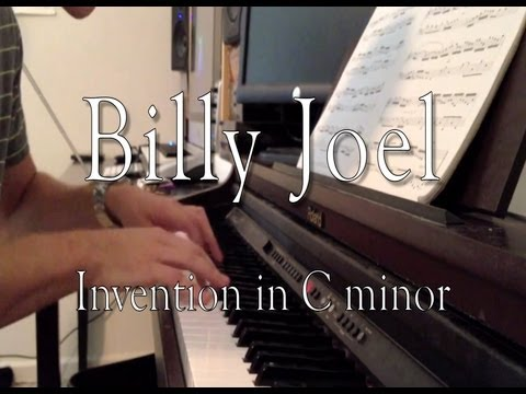 Billy Joel - Invention In C Minor (Evan Duffy, Piano)