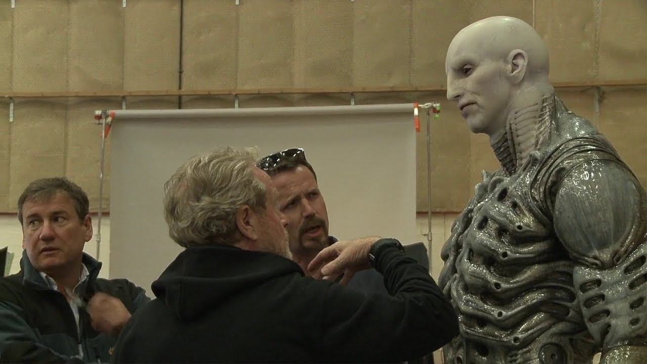 Download Prometheus Making, Behind The Scenes Part 1 / Prometejs Uznemsana Filmesana, 1 dala