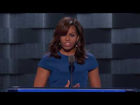 First Lady Michelle Obama at DNC 2016