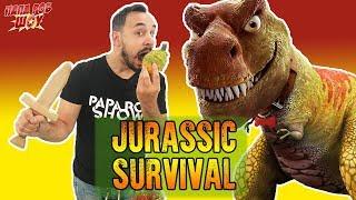 Папа Роб обзор игры Jurassic Survival Часть 2
