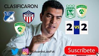 Nacional 2-2 Equidad, Goles, Mi Opinión. Junior, Millos y Equidad en Semis