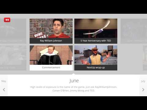Interactive Timeline: YouTube Rewind 2011 (Global)