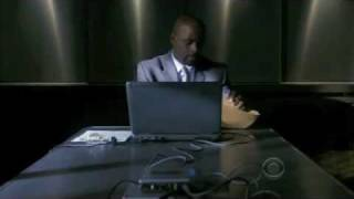 Numb3rs: Charlie taking a Polygraph Test