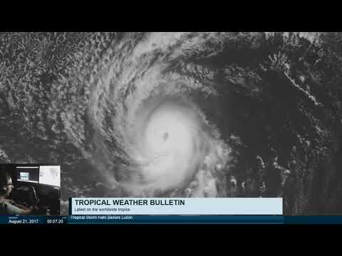 Tropical Weather Bulletin Live - August 21, 2017