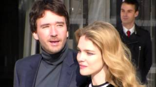 Natalia VODIANOVA & Antoine ARNAULT @ Paris 11 march 2015 Fashion Week show Vuitton