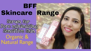 BFF Cosmetic   Natural Affordable Skin Care Range   Honest review   SurSweeet
