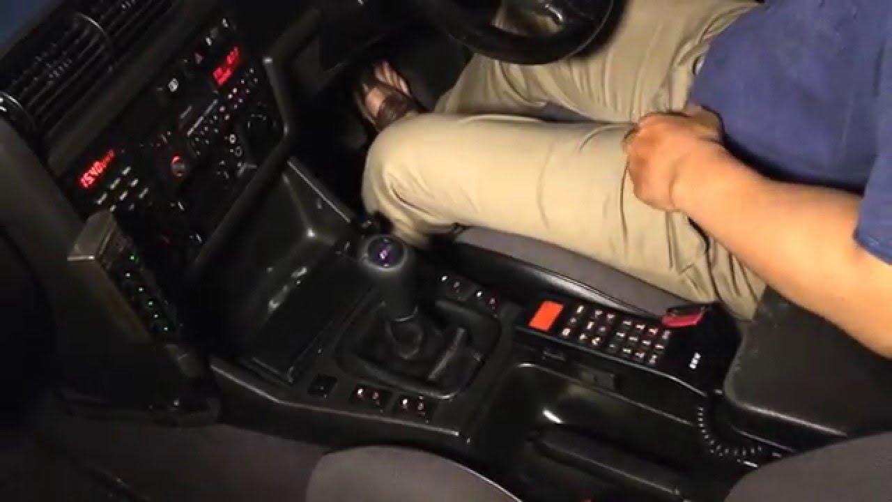 BMW E30 GSM CAR PHONE - YouTube