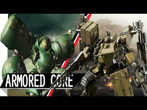Evolution Of Armored Core