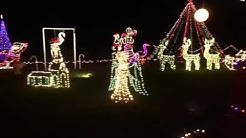 The Cades Christmas Lights near Orange Springs, FL