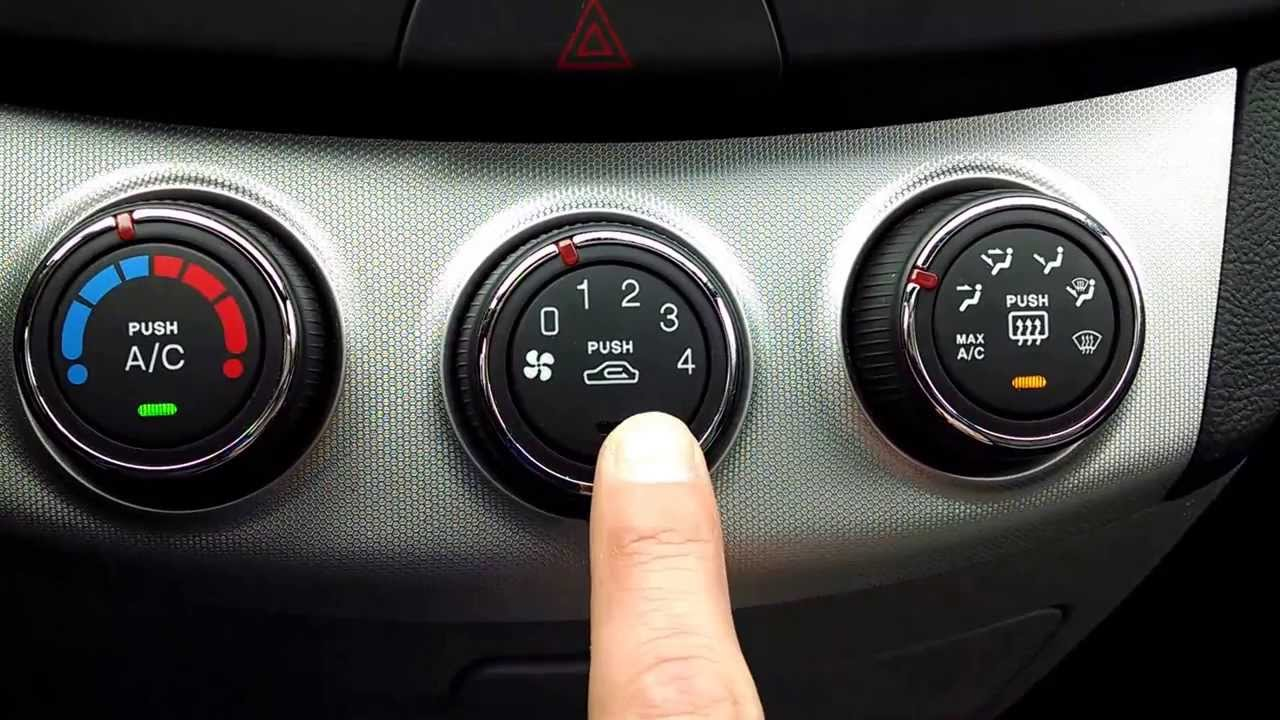 Hyundai Elantra Climate Control Review Amp Explanation