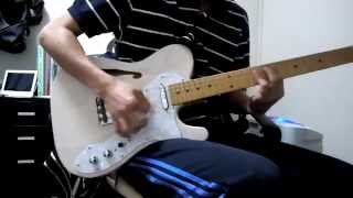 Acidman オールドサンセットを弾いてみました。 フジゲン製のテレキャス...