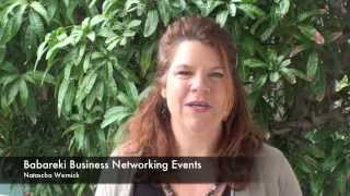 Babareki Business networking events- Facilitator Natascha Wernick