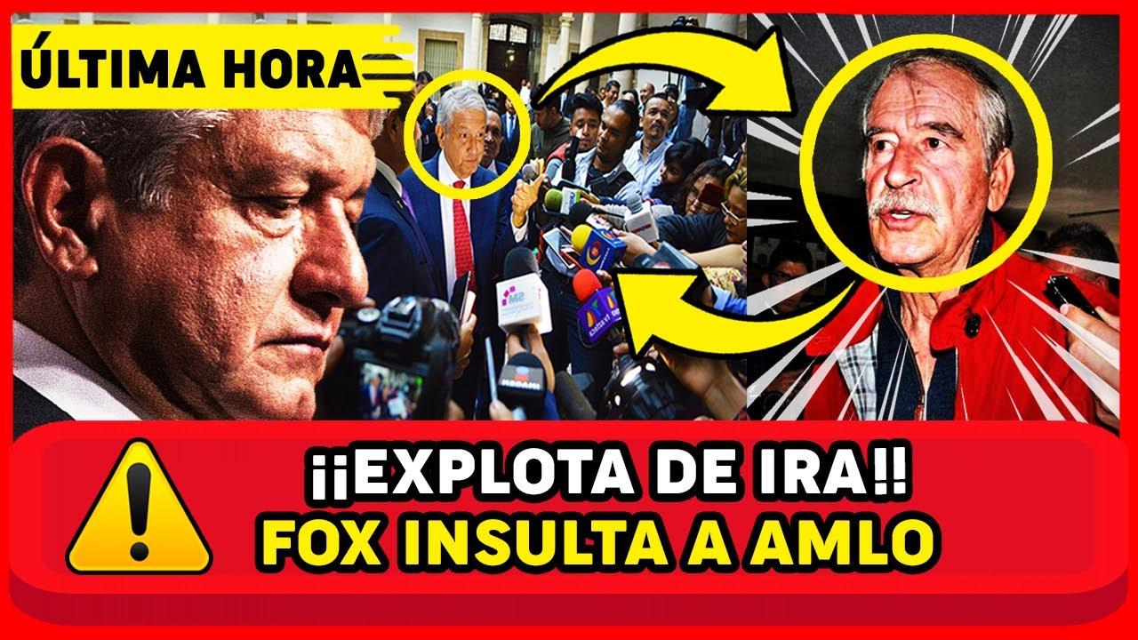 Vicente Fox INSULT4 SIN PIEDAD a AMLO !YA ESTA DESQUICIADO! en ENTREVISTA y queda en RIDICUL0