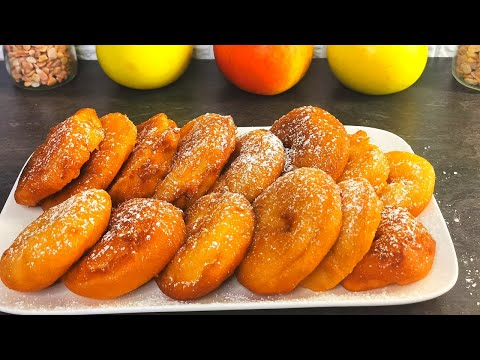 beignets-aux-pommes😋-recette-facile-et-rapide!-🥯🍎