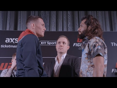 UFC London: Media Day Faceoffs