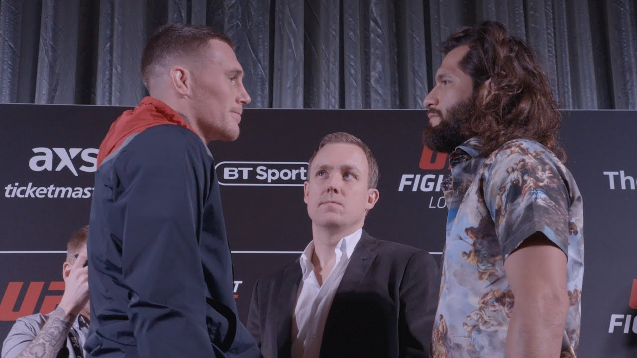 UFC London: Media Day Faceoffs