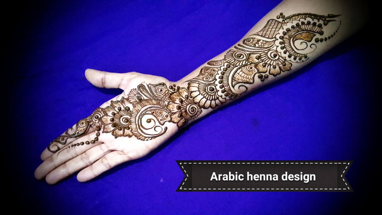13 Unique Henna Designs Doing The Rounds This Wessing: Latest Stylish Arabic Beautiful Henna Designs For Hands