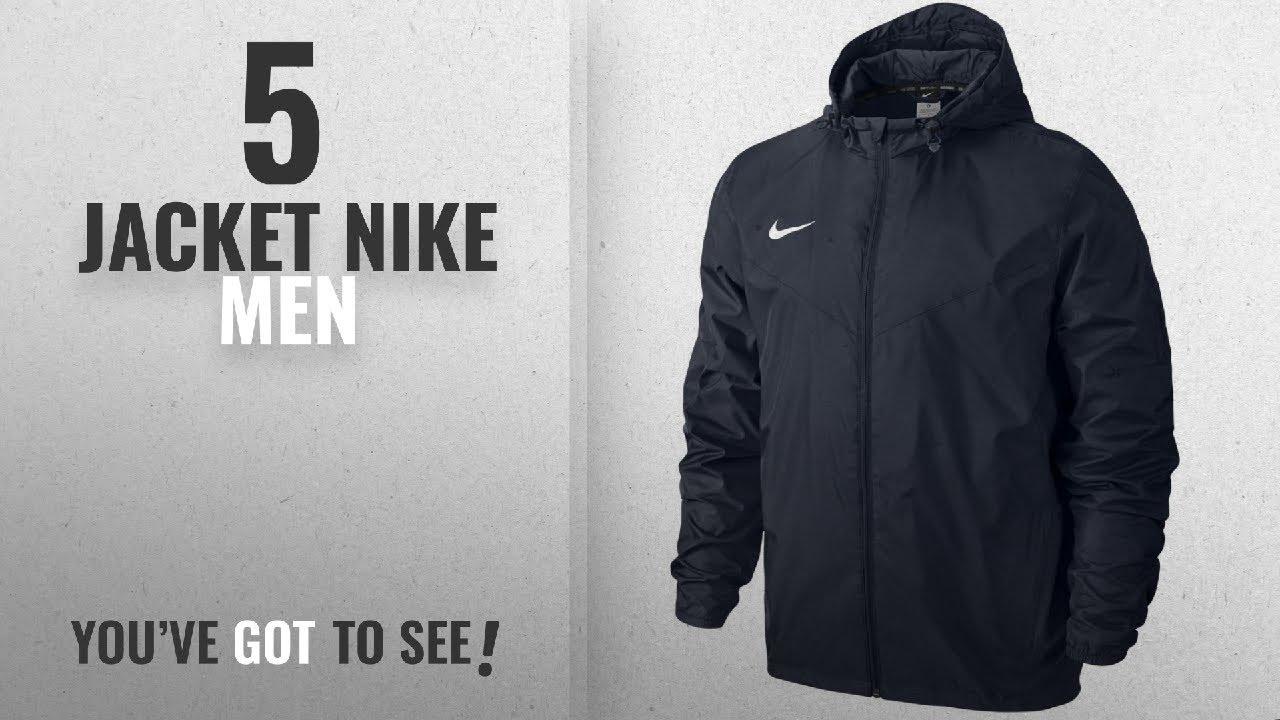 1bd0e5a6857341 Top 10 Jacket Nike Men  2018   Nike Men s Team Side Line Rain Jacket ...