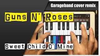 Guns N' Roses - Sweet Child O' Mine Garageband Cover Remix | iPad/iPhone iOS