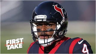 Should Deshaun Watson keep being silent about what's going on with the Texans?   First Take