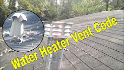 Don't Do This To Your Water Heater Vent