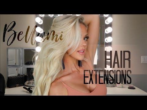 BELLAMI HAIR EXTENSIONS | TUTORIAL