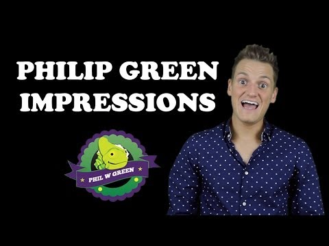 Philip Green - 64 IMPRESSIONS - Britain's Got Talent Impressionist