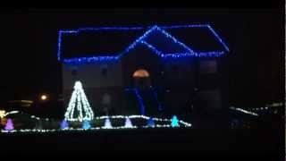 Christmas in Calera Light Show - Carrie Underwood - Do You Hear What I Hear