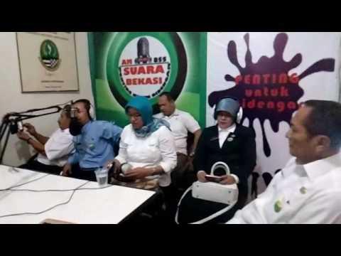 Dialog Akhir Tahun bersama Jajaran DISPERA Pemkot Bekasi