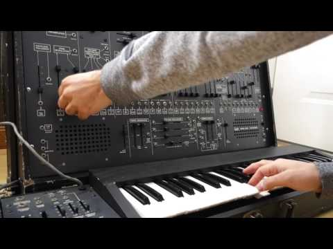 arp 2600 modular synthesizer demo video youtube. Black Bedroom Furniture Sets. Home Design Ideas