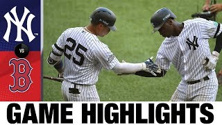 Yankees use 9-run 7th to sweep London Series | Yankees-Red Sox Game Highlights 6/30/19
