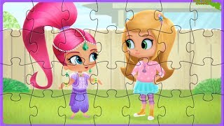 Shimmer and Shine Beautiful Puzzle Games for Kids