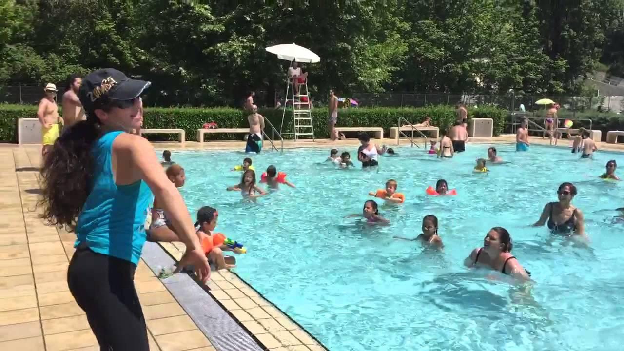 Aqua zumba avec raquel youtube for Carouge piscine