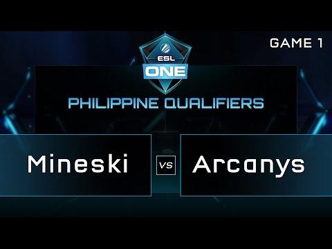 Mineski vs Arcanys - ESL One Manila PH Qualifiers - Game 1