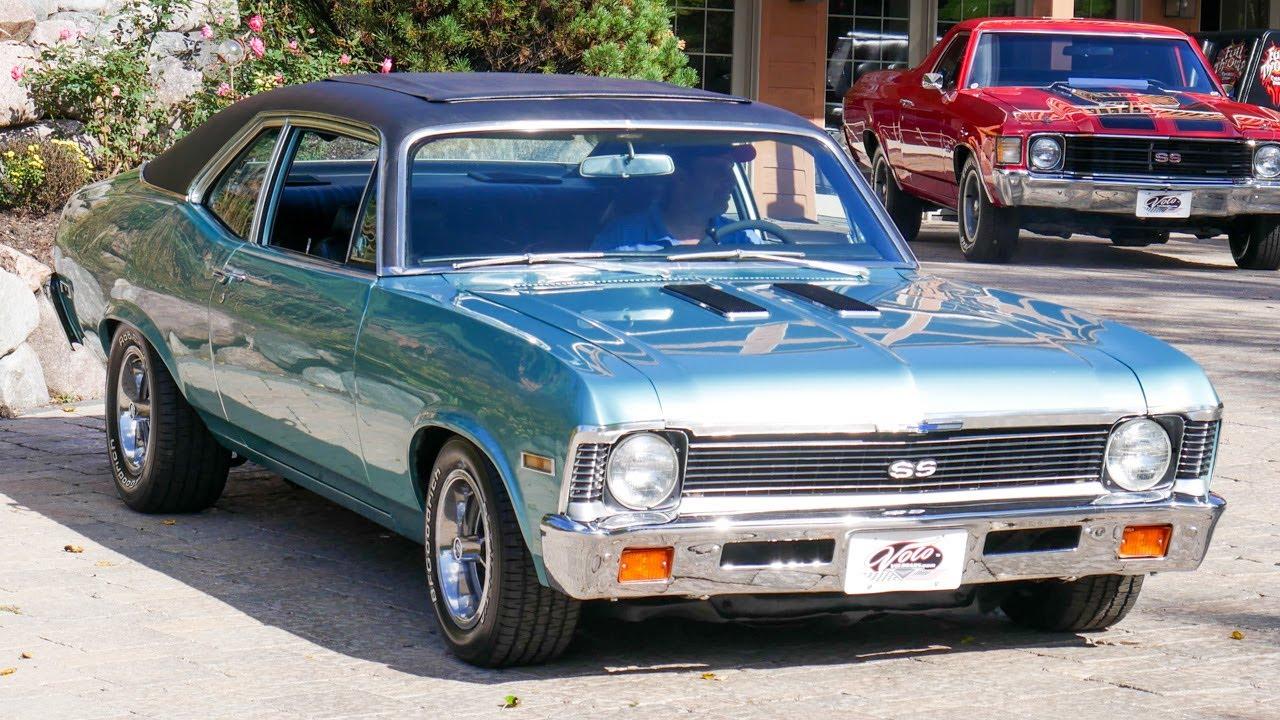 V18174 1972 Chevrolet Nova Sky Roof Youtube