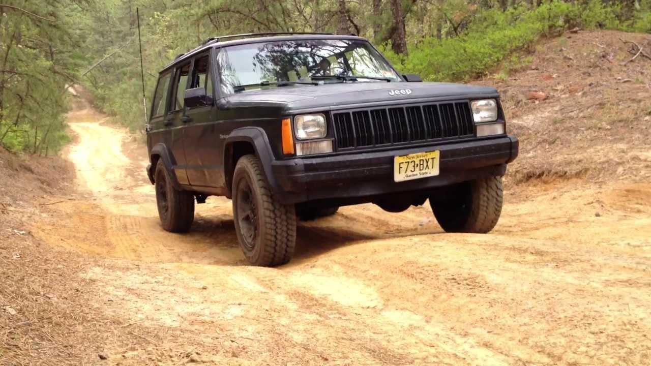 1993 Jeep Cherokee Off Road - YouTube