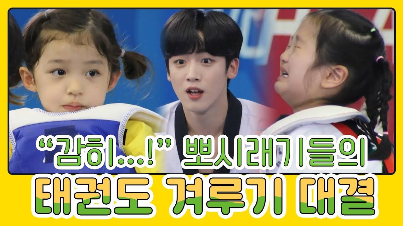 복수에 복수를 더한  뽀시래기들의 태권도 겨루기 대결🤼! | MBN 20210620 방송