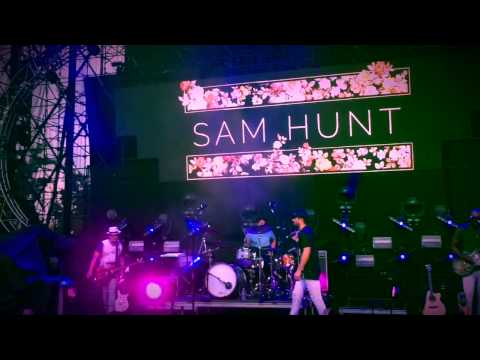 Sam Hunt   IRVINE, CA   6.27.15 Wheels Up Tour Mashup