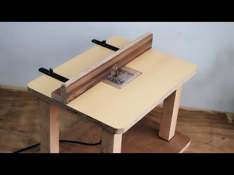 How To Make Mini Router Benchtop Table || DIY Mini Router Table