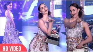 """Nivedita Saboo"" Ke Liye Bollywood Beauties Ka Ramp Walk | Tech Fashion Tour 2018"