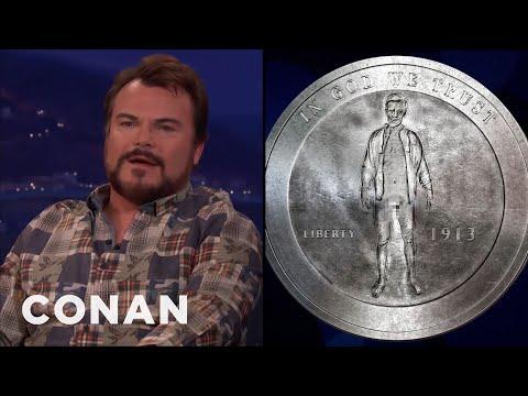 Jack Black Has A Rare & Spicy Coin Collection  - CONAN on TBS