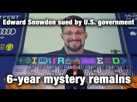 Edward Snowden Sued By U.S. Government, 6-year Mystery Remains