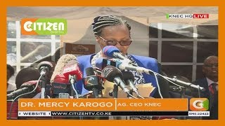 KCPE 2019 :This year's KCPE exams marked by 5795 examiners, says Mercy Karogo CEO, KNEC