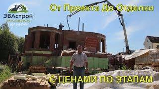 Как построить дом. Детальное строительство дома.